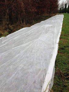 1m x 16m de protection contre le gel en fibre polaire Hiver Jardin Horticultural Agricole de la marque Yuzet image 0 produit