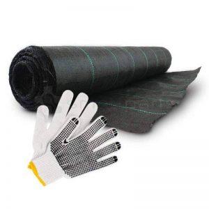 100g/m² Kenley Tissu Revêtement Toile de Paillageanti anti Mauvaises Herbes - 1M x 100M de la marque Kenley image 0 produit