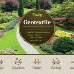 100g/m² Kenley Tissu Revêtement Toile de Paillageanti anti Mauvaises Herbes - 1M x 100M de la marque Kenley image 1 produit
