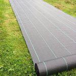 1m X 50m Tissu des mauvaises herbes, la couverture du sol, la membrane de jardin 100gsm de la marque Yuzet image 1 produit