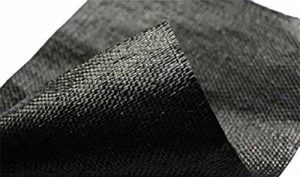 2x 5m Noir tissé Weed/stabilisation Membrane de la marque spudulica image 0 produit