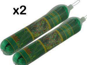 2 x Filets Jardin - Chaque 2m x 10m - Maille Forte Fine - Peut Etre Coupé à Taille Requise - Protéger les Semis / Légumes / Fruits SOFT / Plantes / Etangs de la marque We Search You Save image 0 produit