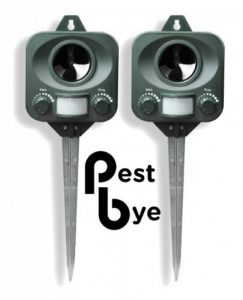 2 x Répulsifs Chat à Piles - Pestbye - Ultrason Anti Chats de la marque PestBye image 0 produit