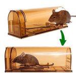 2 x Vensmile Souricière Piège à souris en direct Répulsor Contrôle de la souris peut tuer sans cruauté à rat Cage de la marque Vensmile image 1 produit
