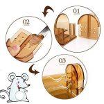 2 x Vensmile Souricière Piège à souris en direct Répulsor Contrôle de la souris peut tuer sans cruauté à rat Cage de la marque Vensmile image 4 produit