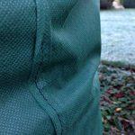 2XL chauffant Plant protection hivernale pour jardin Coque 140x 200cm 35g/m² de la marque Yuzet image 2 produit