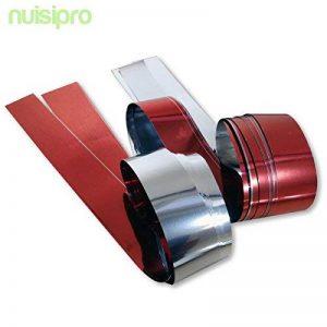20 bandes de ruban double face brillantes - Pour effrayer les Oiseaux de la marque NUISIPRO image 0 produit