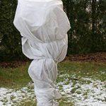 20m² de protection hivernale hiver non-tissé Protection anti-gel 80g 1,4m de large de la marque Aquagart image 3 produit