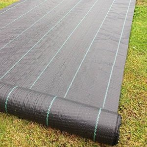 2M X 10M Tissu des mauvaises herbes, la couverture du sol, la membrane de jardin de la marque Yuzet image 0 produit