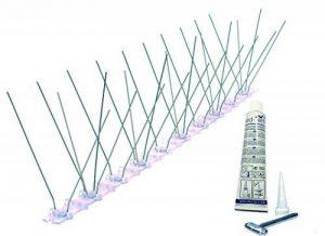 3 mètres pics anti pigeons BIRD-TECH en acier inoxydable + 1 Colle transparent GARANTIE 10 ANS de la marque Oldisfer image 0 produit
