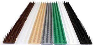 3m pics anti oiseaux et anti chats - 6 pcs de 50cm polypropylène anti UV (marron) de la marque Fotona image 0 produit