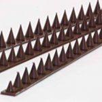 3m pics anti oiseaux et anti chats - 6 pcs de 50cm polypropylène anti UV (marron) de la marque Fotona image 4 produit