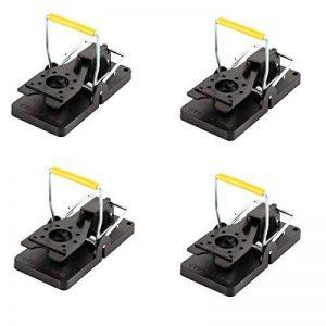 4 x piège à souris Mitavo, durée de vie élevée, sans poison, piège robuste réutilisable, souris piege de la marque Mitavo image 0 produit