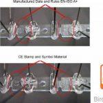 5 mètres pics anti pigeons, 4 rangées pointes en acier inoxydable + 3 Colle transparent GARANTIE 10 ANS de la marque Oldisfer image 4 produit
