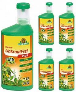 5x 1L Neudorff Finalsan Concentré Produit contre mauvaises herbes sans Plus, Herbicide de la marque Neudorff image 0 produit