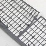 6m feuilles Protection/Protection de gouttière en gris, montage Clip & lien Compartiment marché qualité professionnelle de la marque Powerpreise24 image 3 produit