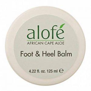 alofe 'Pieds et Talon Baume, 125ml–Une combinaison parfaite de africain Cape Aloe Extrait, camphre et huile d'arbre à thé de la marque Alofe' image 0 produit