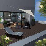 AMANKA Voile d'ombrage 3x3x3m en polyester hydrofuge protection du soleil UPF50+ toile triangulaire XL ombre jardin Beige de la marque AMANKA image 1 produit