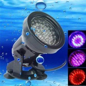 Ampoules, Ampoules domestiques, 2.3W 36 LED Amphibie Réservoir de poissons / aquarium Projecteurs étanches colorés, profondeur étanche: 1-1.5m Ampoules de la marque RUGGUANG LIGHTS image 0 produit