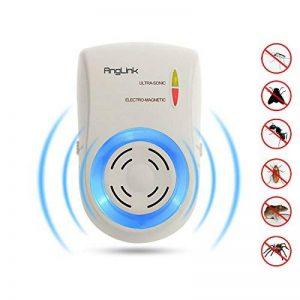 AngLink Répulsif Ultrason Anti-Moustique Rongeurs Ultrason Souris Rats- Efficacité Garantie de la marque AngLink image 0 produit