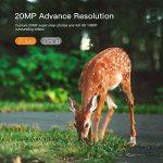 APEMAN Caméra de chasse 20MP 1080P Caméra Animaux de Surveillance avec Infrarouge Vision Nocturne Jusqu'à 65ft / 20m IP66 Pulvérisation Étanche de la marque apeman image 1 produit