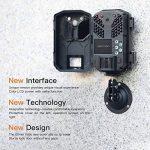 APEMAN Caméra de chasse 20MP 1080P Caméra Animaux de Surveillance avec Infrarouge Vision Nocturne Jusqu'à 65ft / 20m IP66 Pulvérisation Étanche de la marque apeman image 2 produit