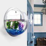 Aquarium mural à suspendre avec fond miroir acrylique, produits pour animaux domestiques, aquarium à fixation murale de la marque Pin Si Jia image 2 produit