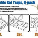 Aspectek - Lot de 6 pièges à souris - Réutilisables et faciles à utiliser de la marque Aspectek image 3 produit