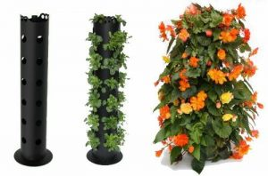 BALDUR-Garten GmbH Flower Tower - Tour pour fleurs - 85cm de haut de la marque BALDUR-Garten-GmbH image 0 produit
