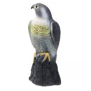 Baoblaze Réaliste Aigle Leurre de Chasse Epouvantail Figurine de Décoration Jardin Protection Contre Oiseaux Rongeurs de la marque Baoblaze image 0 produit