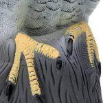 Baoblaze Réaliste Aigle Leurre de Chasse Epouvantail Figurine de Décoration Jardin Protection Contre Oiseaux Rongeurs de la marque Baoblaze image 4 produit