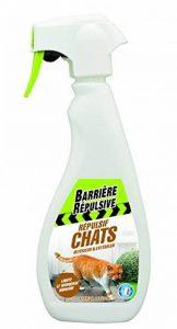 BARRIERE REPULSIVE CHAPRET500 Répulsif Chats Intérieur & Extérieur Blanc 10.1 x 6 x 26 cm 500 ml de la marque BARRIERE REPULSIVE image 0 produit