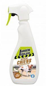 BARRIERE REPULSIVE CHIENPRET500 Répulsif Chiens Intérieur & Extérieur Blanc 10.1 x 6 x 26 cm 500 ml de la marque BARRIERE REPULSIVE image 0 produit