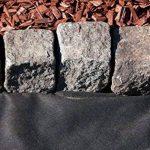 Bâche anti-mauvaises herbes en tissu non tissé pour jardin 45 gms roulé (1 x 10 m, noir) film mauvaises herbes écologique en polypropylène de la marque Green Home image 4 produit