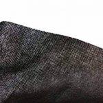 Bâche anti-mauvaises herbes en tissu non tissé pour jardin 45 gms roulé (1 x 10 m, noir) film mauvaises herbes écologique en polypropylène de la marque image 3 produit