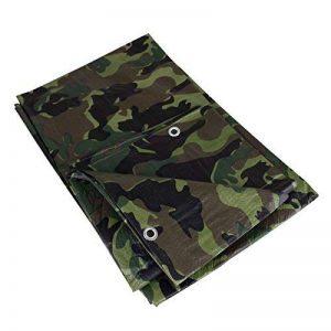 Bâche de protection 2 x 3 m 90 g/m² motif camouflage camouflage camouflage bâche pour bois de la marque Benson Tarpaulins image 0 produit