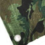 Bâche de protection 2 x 3 m 90 g/m² motif camouflage camouflage camouflage bâche pour bois de la marque Benson Tarpaulins image 2 produit
