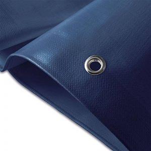Bâche de protection casa pura® en polyéthylène | haute densité 260g/m² | 100% imperméable à l'eau et aux UV | bleu - env. 3x4m de la marque casa pura image 0 produit