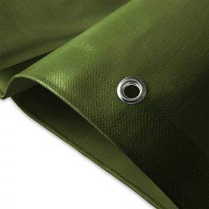 Bâche de protection casa pura® en polyéthylène | haute densité 260g/m² | 100% imperméable à l'eau et aux UV | bleu-vert - env. 3x5m de la marque casa pura image 0 produit
