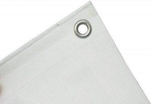 Bâche de protection textile haut de gamme, 260 g/m², disponible dans 23 dimensions, couleur : vert ou blanc au choix Bâche de protection - Housse pour bateau - Bâche pour bois. de la marque GF image 0 produit
