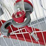 Biberon rongeurs avec remplissage facile 500 ml rouge cerise (remplissage par le dessus) de la marque Zolux image 1 produit