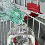 Biberon rongeurs avec remplissage facile 500 ml rouge cerise (remplissage par le dessus) de la marque Zolux image 3 produit