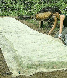 Bio, FLOR80350Toile de paillage en non-tissé pour jardin, Parterre non-tissé 1Pack. de la marque BALDUR Garten image 0 produit