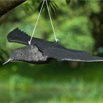 Bird Répulsif Corbeau avec ailes propagation d'extérieur Pest Control Leurre pigeon Faux Effet dissuasif Répulsif de la marque Lembeauty image 4 produit