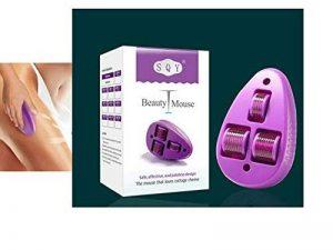Body Mouse Dermaroller–Design Innovant avec aiguille 33rouleaux/2,0mm Longueur/grossflächig, kurzzeitige Traitement pour le corps de la marque SQY image 0 produit