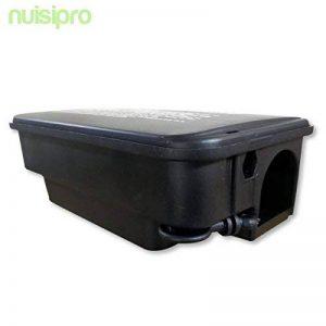Boîte plastique refermable avec clé - Pour mettre en sécurité du poison contre les rats de la marque Nuisipro image 0 produit