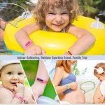 Bracelet anti-moustiques Binwox insectifuge meilleurs bracelets antiparasitaires 90 jours de protection, naturels, sans danger et sans DEET, étanche, bracelet poignet/cheville pour enfants et adultes de la marque Binwox image 4 produit
