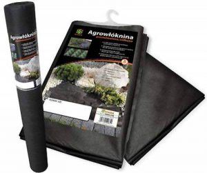Bradas awb5011050mauvaises herbes de toile de paillage Fond Tissu, 1,1x 50m, 50g/m², noir de la marque Bradas image 0 produit