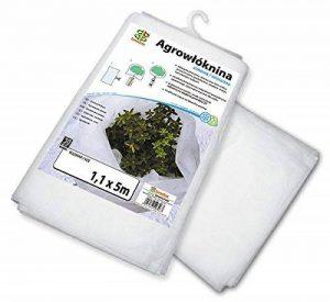 Bradas aww30110055fois Bâche en non-tissé pour jardin 30g/m², 1,1x 5m, blanc de la marque Bradas image 0 produit