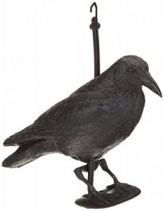Brema Figurine De Jardin | Corbeau Anti-Pigeon Et De Décoration | Noir | Figurine En Plastique de la marque Brema image 0 produit